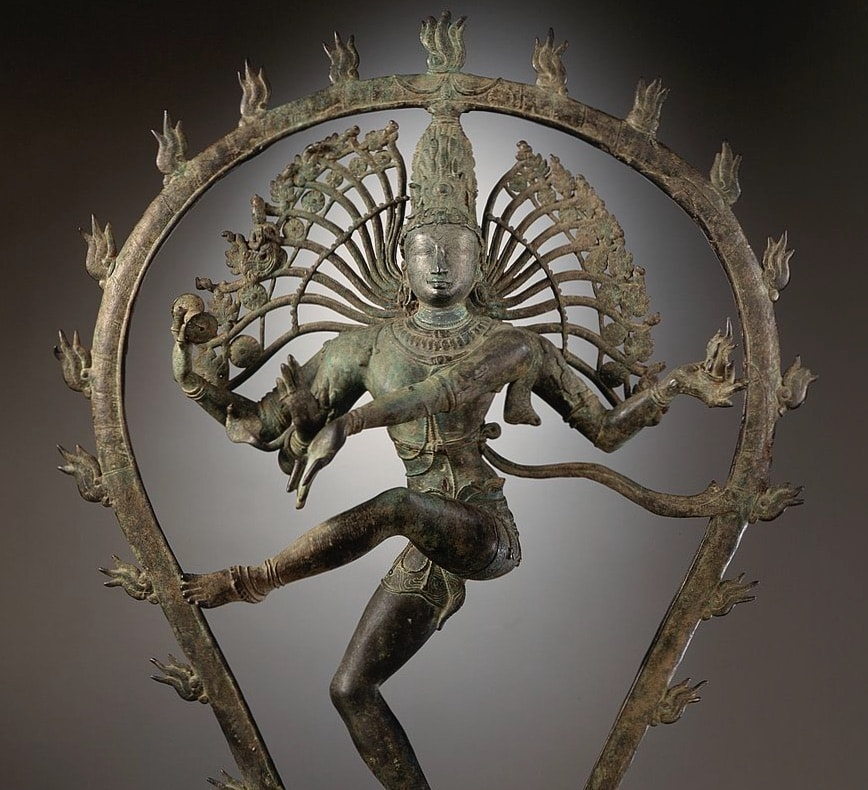 Lord Shiva performs the Rudra Tandava dance of destruction